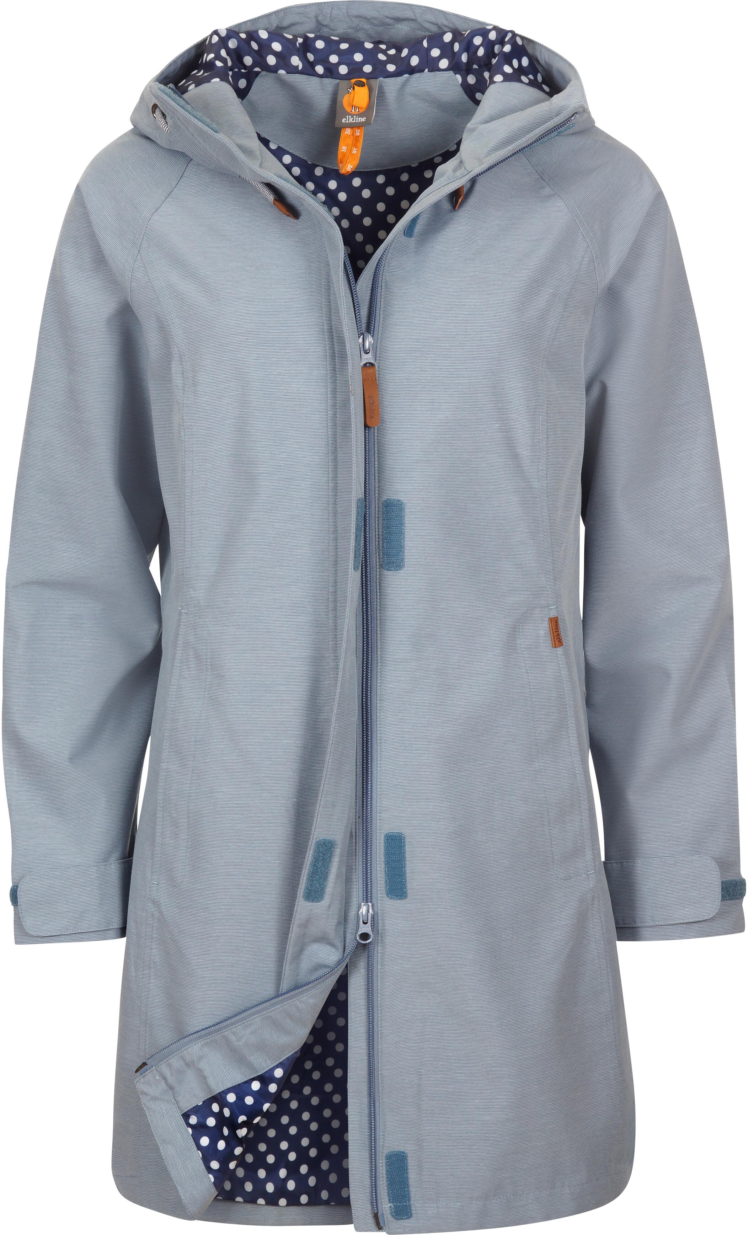 628b1e9f1886ca Elkline Offline Rain Coat Damen blue-denim | campz.ch